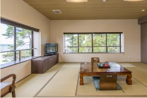 和室の個室スペース