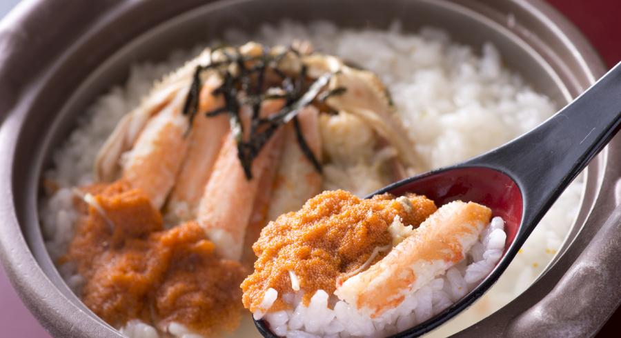 セイコ蟹の雑炊