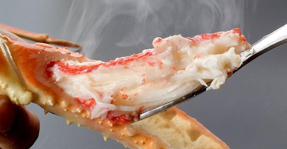 越前ガニのゆで蟹