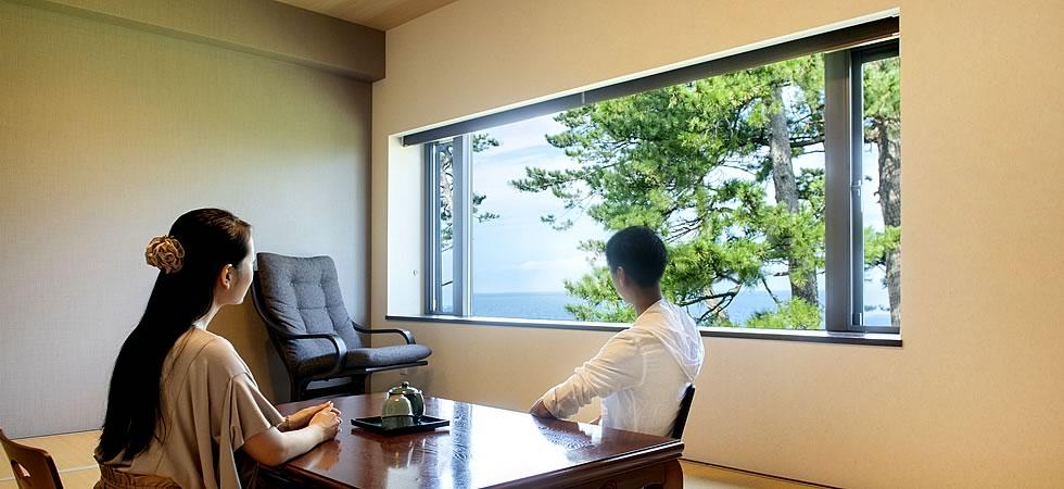 三国温泉お宿あらや客室「松島」