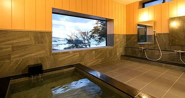 三国温泉の貸切風呂